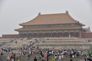 The Forbidden City and Tiananmen Square