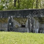 "One of the Fort Eben-Emael's casemates, ""Maastricht 2"""