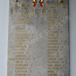 Names of the taken Belgian soldiers during the raid.